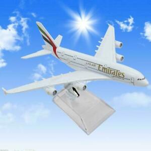 16cm Diecast Model Airbus380 Airlines A380 HQ Aircraft Aeroplane T1Y5 Fast