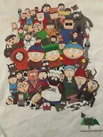 VTG 1998 South Park T Shirt 90s Tee Comedy Central Television TV Movie Cotton