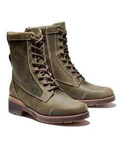 Timberland Women's Graceyn Lace Up WP Lug Sole Boots Sizee 8.5 Canteen