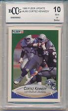 1990 Fleer Update Cortez Kennedy (HOF) (Rookie Card) (#U-85) BCCG10 BCCG