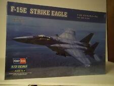 American F-15E Strike Eagle Jet Fighter 1/72 scale model kit by Hobby Boss