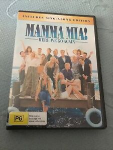 Mamma Mia! Here We Go Again Includes Sing A Long Edition Dvd