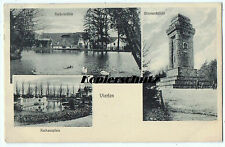 alte Ak 1908 Viersen, Rathausplatz, Kaisermühle, Bismarcksäule