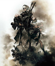 POSTER NIER: AUTOMATA NIER ANDROID YORHA 2B 9S A2 ROBOT GAME GIOCO PS4 FOTO #29