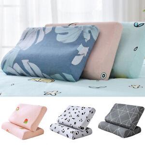 Cotton Pillowcase Memory Foam Contour Pillow Cover Case Latex Pillow Case Decor