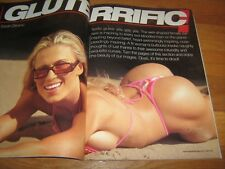 MuscleMag bodybuilding magazine/Swimsuits/GLUTES Justin Brooks/Rodi 1-03 #247