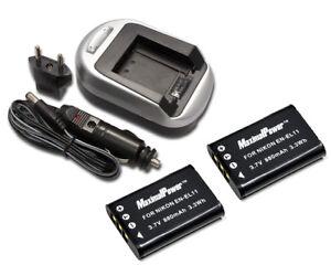 MaximalPower  Battery for Nikon EN-EL11 Pentax D-LI78 Olympus Li-60B Ricoh DB-80