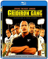 USED BLU RAY - GRIDIRON GANG - The Rock ( Dwayne Johnson )Jade Yorker, Xzibit,
