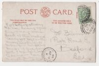 Holymoorside [A] 27 Aug 1908 Single Ring Postmark Derbyshire 826b