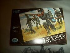 Brunswick Lieb Infantry, Napoleonic, 1/72 Scale Toy Soldiers by Hat