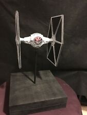 Star Wars Tie Fighter Model 1/48 Scale BUILT & PAINTED WITH LIGHTING