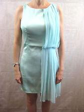 Minty Meets Munt Size M 12 Aqua Cocktail Dress  Designer Dress NWT