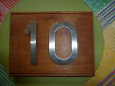 Unique house number sign 10