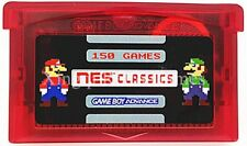 150 in 1 GBA NES Classics Game Boy Advance Multicart w/ SAVE STATES FEATURE!