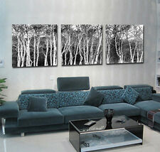 100% HD Canvas Print Home Decor Wall Art Painting Picture-Tree 3PC