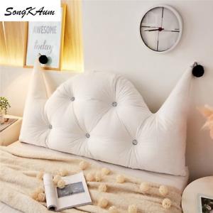 Washable Princess Bedside Cushion European-style Double-sided Cushions Tatami