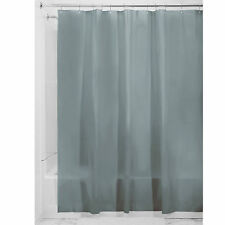 Smoke Vinyl Shower Curtain Liner  Extra Long Size 72 x 84 Mildew Mold Resistant