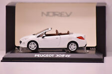 Pe23a Voiture 1/43 NOREV Peugeot 308 CC