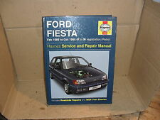 HAYNES WORKSHOP MANUAL  FORD FIESTA  1989 - 1995  F TO N REGISTRATION