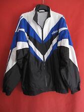 Vintage Jacket Adidas Black and blue 90'S Canvas Nylon former 90's - 192 / XXL