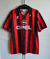AC MILAN ITALY 1994/1995 RARE VINTAGE HOME FOOTBALL SHIRT JERSEY LOTTO SIZE(XXL)
