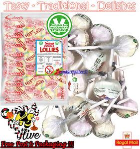 1 - 1000 Swizzels DOUBLE LOLLIES Lollipops Fruit Flavour Candy Retro Party