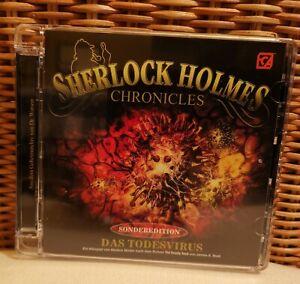 Sherlock Holmes Chronicles DAS TODESVIRUS Sonderfolge CD Hörspiel - wie neu 2021