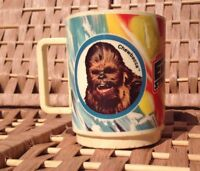 Star Wars Vintage Plastic Mug, The Empire Strikes Back, Film Collector's Item