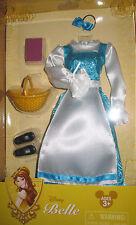 Disney Store parks BELLE Costume blue dress clothes fashion beauty beast doll
