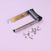 """Used 44T2216 2.5"""" SFF tray caddy' x3250 x3200 M2 M3 HS12 HS22 w/rustsignfor IBM"""