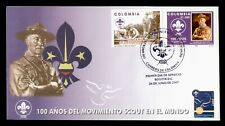 DR WHO 2007 COLOMBIA BOY SCOUTS CENTENNIAL FDC C198197