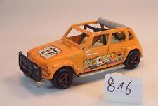 Majorette 1/60 Nr. 231 Citroen Dyane Rallye orange Startnummer 37 #816