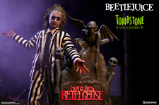 Sideshow Exclusive BEETLEJUICE Figure TOMBSTONE Environment SEALED Shipper NEW