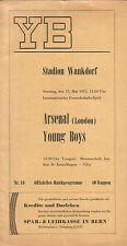 Young Boys Berne v. Arsenal 15/5/1955 Friendly