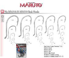 AMI SS-MS4310 SIZE 5/0 MARUTO ACCIAIO INOX TRAINA SERRA OCCHIELLO HOOKS MS 4310
