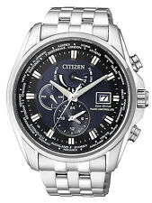 Citizen Eco-Drive Radio Control Watch. Perpetual Cal. Sapphire Glass AT9030-55L