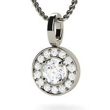 18 Carat White Gold VS1 Fine Diamond Necklaces & Pendants