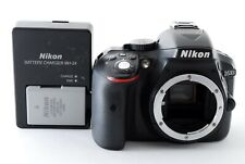 Nikon D5300 24.2MP Digital SLR Camera Black Body w/ charger [Near Mint]