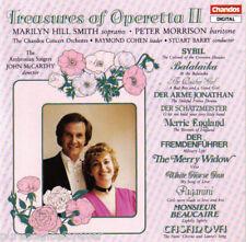 THE CHANDOS ORCHESTRA - Treasures of Operetta II (West German 12 Tk CD Album)