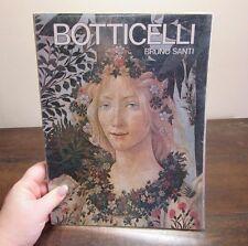 1976 Botticelli by Bruno Santi. Art book