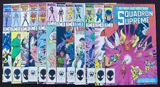 SQUADRON SUPREME 1 2 3 4 5 6 7 8 9 10 11 12 Complete (Marvel 1985-86) 9.2 NM-