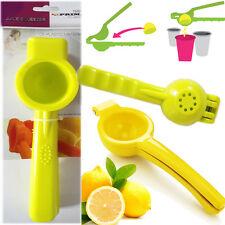 limón exprimidor Cítrico LIMA PRENSA MACIZO plástico extractor manual cocina
