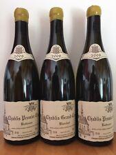 Trio CHABLIS Raveneau 2009 = 1 GC Blanchot + 2 PC Butteaux