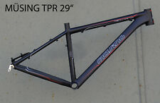 "Müsing Twenty Nine TPR Mountainbike Rahmen RH 44 cm in schwarz 29"""