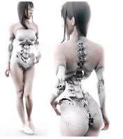 1/6 modern fantasy woman warrior stand Resin figure Model kits