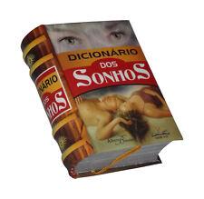 Dicionario dos Sonhos in Portuguese capa dura de livro em miniatura
