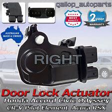 Front Right Side Door Lock Actuator Honda Integra CRV Accord Odyssey Civic Acura