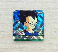CARD DRAGON BALL GT - MINI CARD MAGNETICA - N°S22  VEGETA - USED, AS NEW