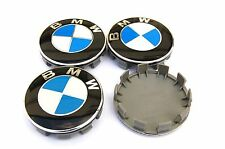 BMW 4psc 68MM Wheel Centre Hub Cups Logo Emblem