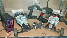 1/10 2wd Buggy Ansmann Mad Rat / Team C / Absima Jekyll 2 cars charger handsets